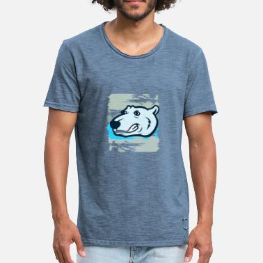 Polar Polar polar bear - Men's Vintage T-Shirt