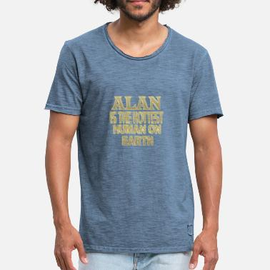 Alan Alan - Men's Vintage T-Shirt