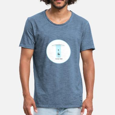 Flying Saucer FLYING SAUCER - Men's Vintage T-Shirt