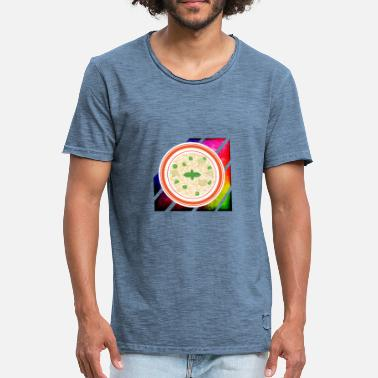 Porridge Colorful porridge - Men's Vintage T-Shirt
