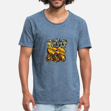 Life Force Power Animal Tiger - Master of Life Force - Men's Vintage T-Shirt