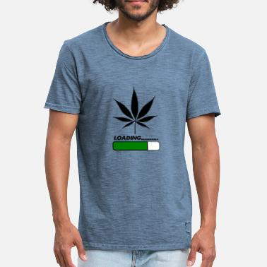 Weed Games weed loading - Men's Vintage T-Shirt