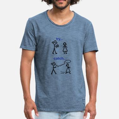 Exception Java Try Catch Code - Männer Vintage T-Shirt