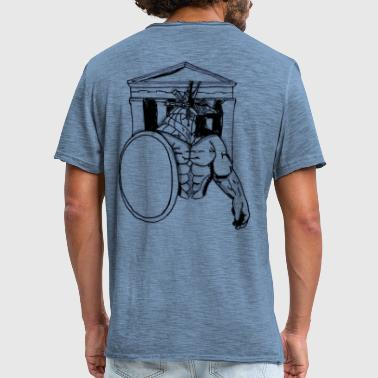 With Full Force Temple of Force, gift, gift idea - Men's Vintage T-Shirt