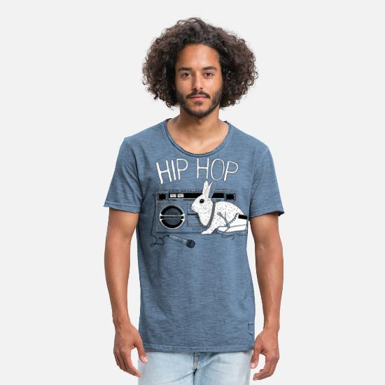Cool T-shirts - HipHop - Mannen vintage T-shirt vintage denim