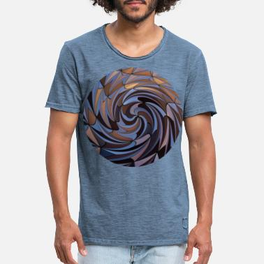 Twisted Shapes Twisted, Shapes Twisted. - Men's Vintage T-Shirt