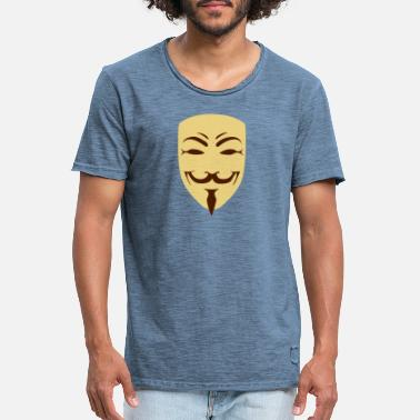 Anonymous anonymous - T-shirt vintage Homme