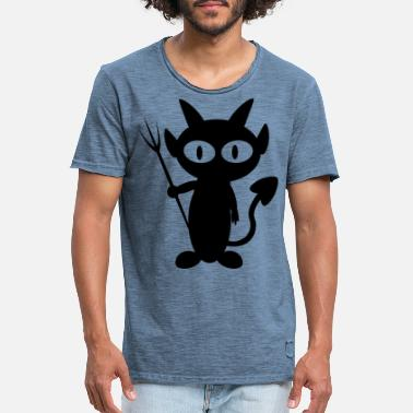 Belzebub Black Devil Little Devil Devil Belzebub T Shirt - Men's Vintage T-Shirt