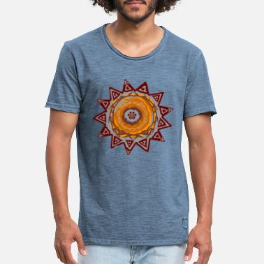 Ornamental Ornament - Männer Vintage T-Shirt