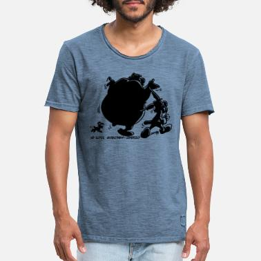 e0f5be5287b7f Asterix And Obelix Shadow - Vintage T-skjorte for menn