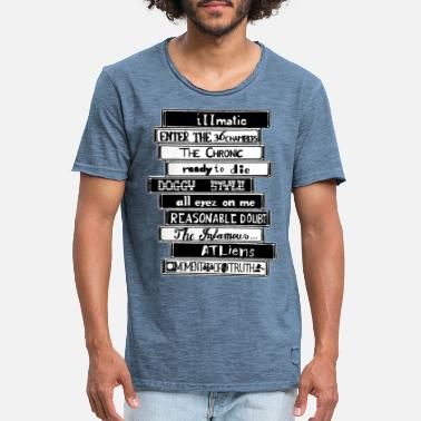 Tang 90´s Classic Tapes - Mannen vintage T-shirt