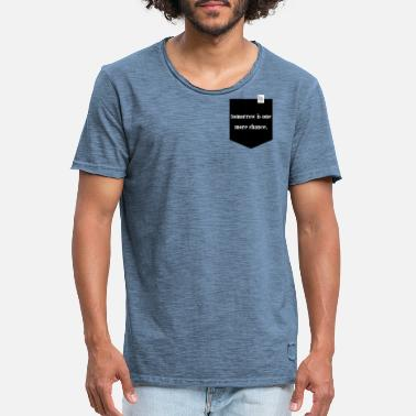 Breast Pocket breast pocket - Men's Vintage T-Shirt