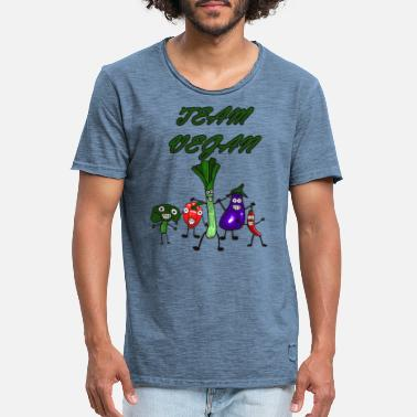 Chili Team Vegan - Männer Vintage T-Shirt