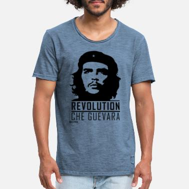 Che Che Guevara Revolutionary - Men's Vintage T-Shirt