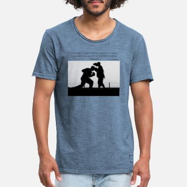 Filmsitat Rocky Motivational T-skjorte - Vintage T-skjorte for menn