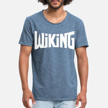 Wiking wiking - Vintage T-skjorte for menn