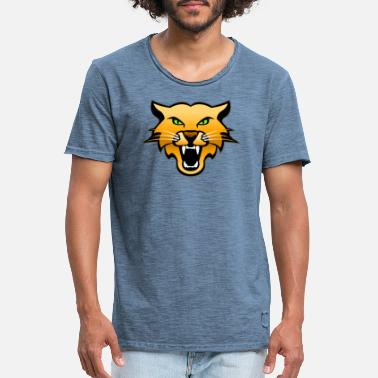 Cougar Head - Men's Vintage T-Shirt