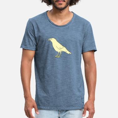 crow - Men's Vintage T-Shirt