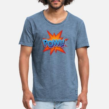 Comicstyle Snygg T-shirt - Vintage T-shirt herr