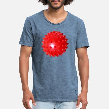 Red Sox Masque Red Ball - Masque Red Ball - T-shirt vintage Homme