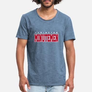 Lexington Lexington Minutemen T-Shirt - Männer Vintage T-Shirt