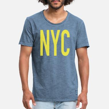 New York Jets NYC New York city - T-shirt vintage Homme