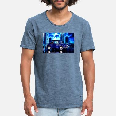 At Night At night - Men's Vintage T-Shirt