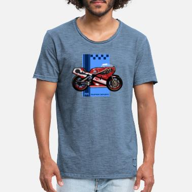 Super Sport Motorcycle RR Super Sport - Men's Vintage T-Shirt