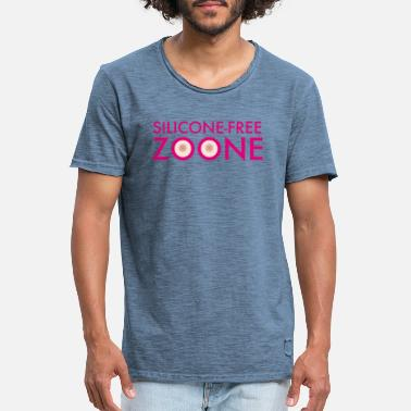 Silicone Silicone Free Zoone - T-shirt vintage Homme