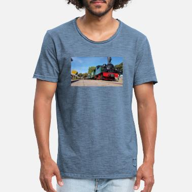 Museum railway Hermann 1 - Men's Vintage T-Shirt