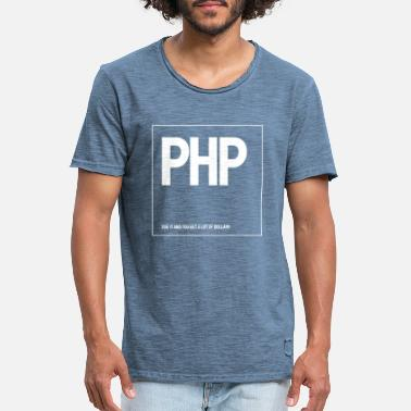 Php PHP - Men's Vintage T-Shirt