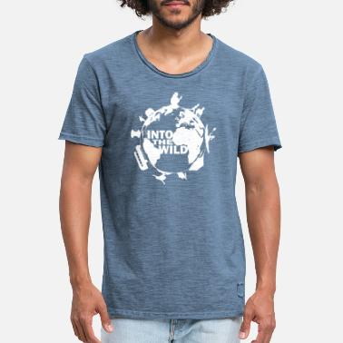 Wild Freedom and travel - T-shirt vintage Homme
