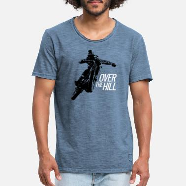 Over The Hill Over the Hill - Men's Vintage T-Shirt