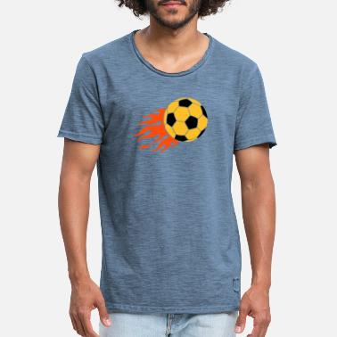 But football - T-shirt vintage Homme