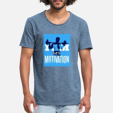 motivation gymnase fitness muscle gymnastique suédoise sport - T-shirt vintage Homme