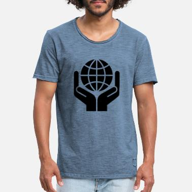 Save The World Save the world - Men's Vintage T-Shirt