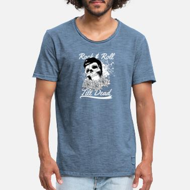 Rock & Roll to the finish - Men's Vintage T-Shirt