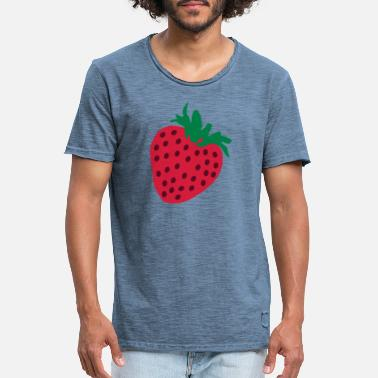 Strawberry Strawberry - T-shirt vintage Homme