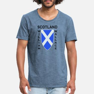 William Wallace Scotland William Wallace II - Men's Vintage T-Shirt