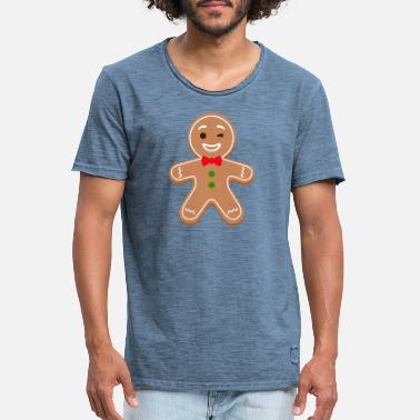 Gingerbread man, gingerbread man - Men's Vintage T-Shirt
