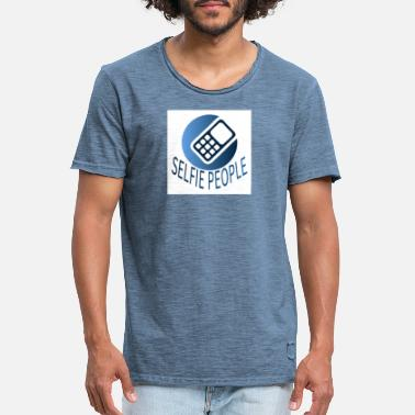 Community Global People Community - Vintage T-skjorte for menn