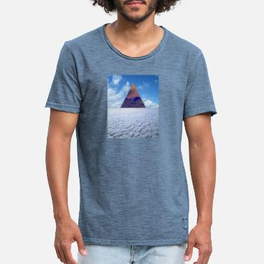 Triangle of Oranegation - Men's Vintage T-Shirt