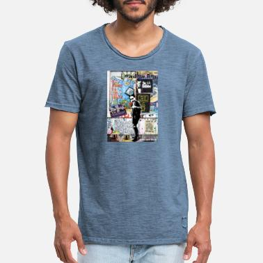 London Boy - Männer Vintage T-Shirt