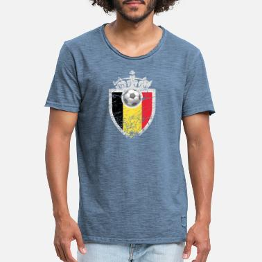World Championship Soccer World Cup European Championship World Championship Sport Belgium - Men's Vintage T-Shirt