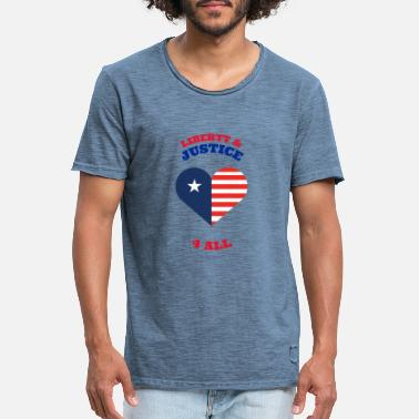 liberty justice 4 by PEOPLE WEAR USA - Men's Vintage T-Shirt