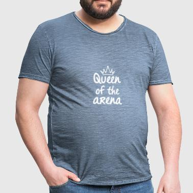 Queen of the arena - Men's Vintage T-Shirt