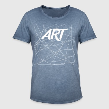 Art Collection - Herre vintage T-shirt