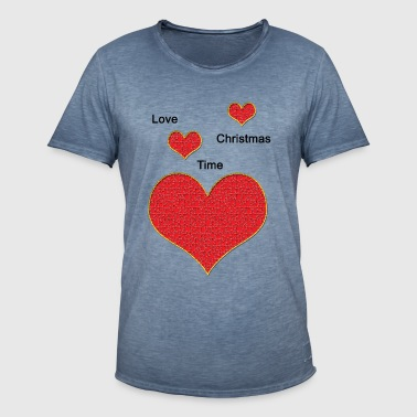 Love_Christmas - Men's Vintage T-Shirt