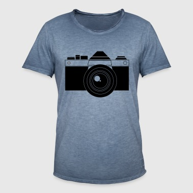 Camera Vector - Men's Vintage T-Shirt