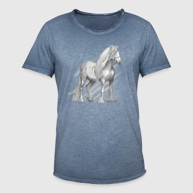 Cold-blood horse - Men's Vintage T-Shirt